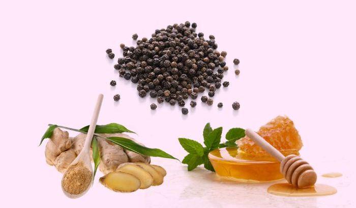 Remedii naturiste pentru tuse - ghimbir piper