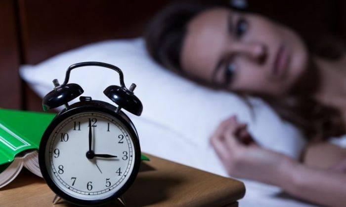 Simptomele lipsei de calciu - Insomnie